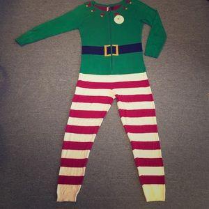 Love By Design Elf Christmas Holiday Pijama Onesie